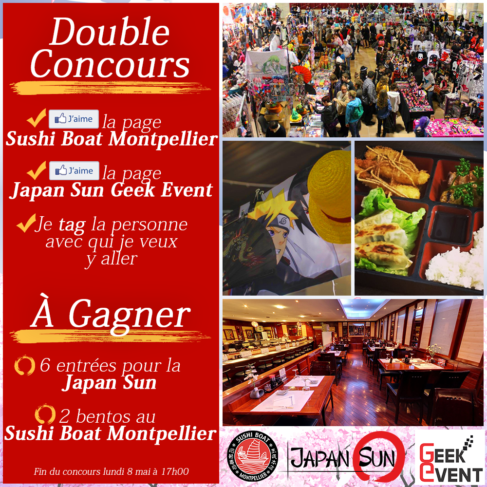 Concours Sushi Boat Japan Sun